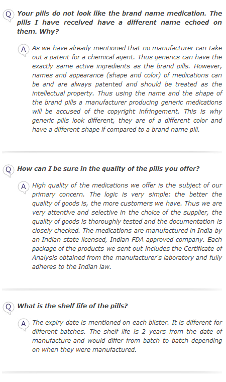 FAQ - Products 2